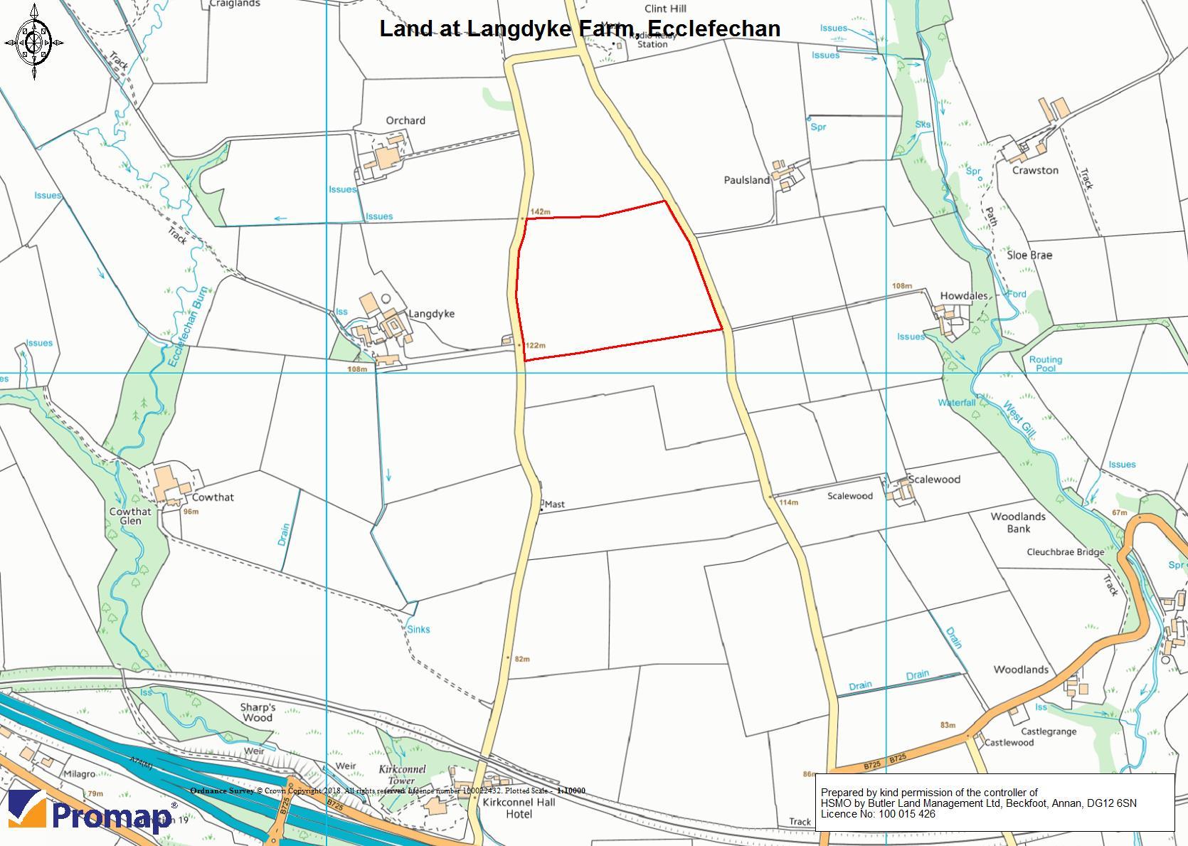 Land at Langdyke, Ecclefechan